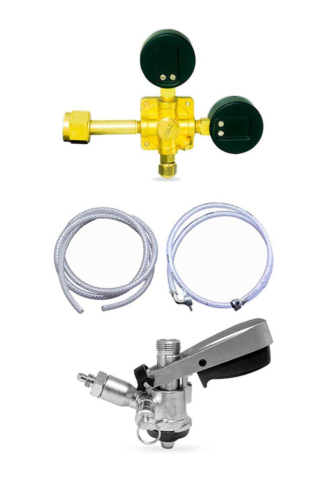 Kit de extração de chopp sem cilindro
