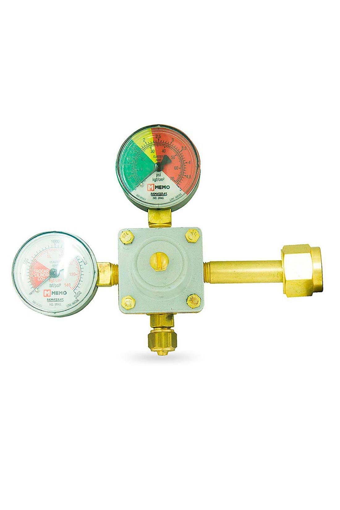 Válvula Redutora de Pressão com Manômetro de 1 Saída