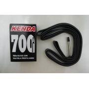 CAMARA 700X18/23C KENDA COM VALVULA PRESTA 60MM - ISP
