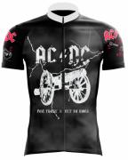 CAMISA AC/DC CICLISMO ROCK