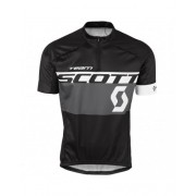 CAMISA SCOTT MC RC TEAM 16 PRETO CINZA !