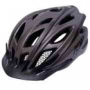 CAPACETE ASW BIKE ACTIVE COM LED 17 CINZA