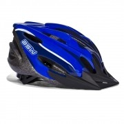 CAPACETE ASW BIKE FUN COM LED AZUL 17