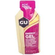 GU ENERGY GEL - SABOR ACAI COM BANANA - SUPLEMENTO ENERGETICO