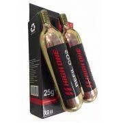 TUBO REFIL CILINDRO CO2 25G CX COM 2 Ref: HOBOM0017 Marca: HIGH ONE