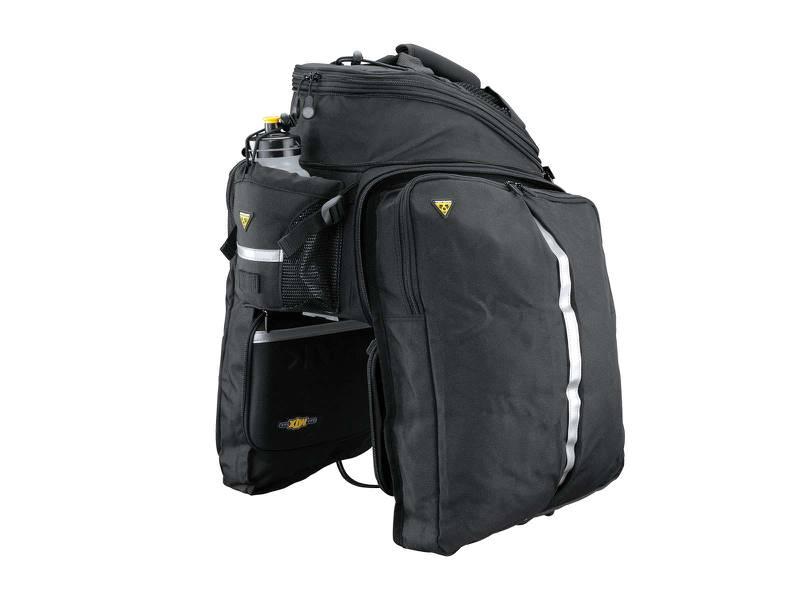 ALFORJE TOPEAK MTX TRUNK BAG DXP COM LATERAIS EXPANSEIS 22.6 LITROS