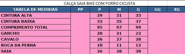 CALCA VILLA SPORTS COM SAIA CYCLING PAINE HIGH TECH AZUL