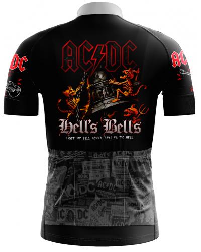 CAMISA AC/DC CICLISMO