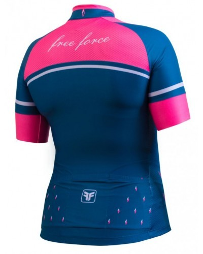 CAMISA FREEFORCE FEMININA DIAMOND ROSA (MODELAGEM FIT)