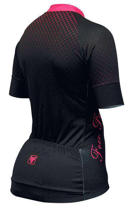 CAMISA FREEFORCE FEMININA POINT PRETA E PINK