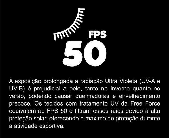 CAMISA FREEFORCE FEMININA RIPPLE PRETA (MODELAGEM FIT)