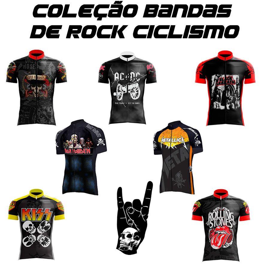 CAMISA IRON MAIDEN CICLISMO ROCK  - Bike Runners