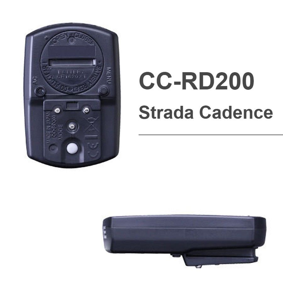 CICLOCOMPUTADOR CATEYE CC RD200 STRADA CADENCE CADENCIA 9 FUNCOES