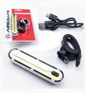 FAROL DIANTEIRO ABSOLUTE JY-6085F BRANCO CARREGAVEL VIA USB- ISP