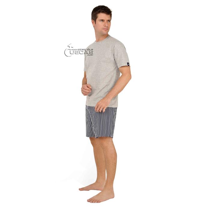 Pijama Fitswell Curto Shorts Listrado - 11179