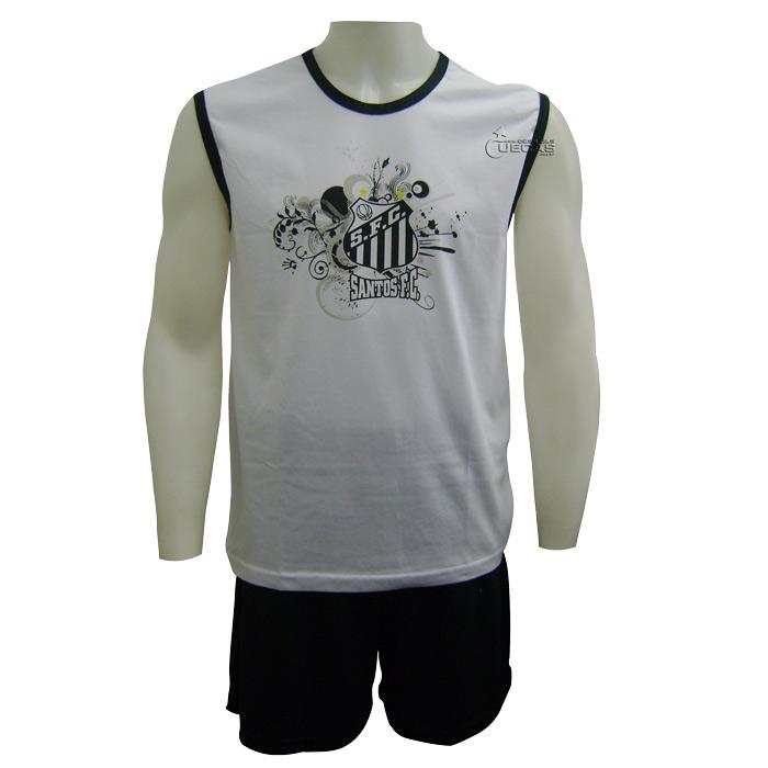 Pijama Santos Adulto Cavado - 11686