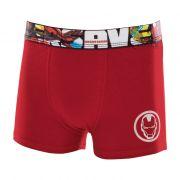 Cueca Mash Boxer Homem de Ferro Infantil - AV1.01