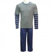 Pijama Fitswell Longo 100% Algodão - 12113