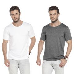 Camiseta Avulsa Básica Pijama Homewear em Viscolycra - L508