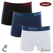 Cueca Bad Boy Infantil Boxer - BB1.30