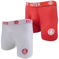 Cueca Boxer do Internacional Microfibra c/Silk - 04.0001