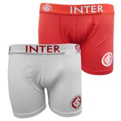 Cueca Boxer Infantil do Internacional Microfibra c/ Silk - 04.0003
