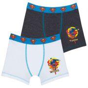 Cueca Boxer Infantil Superman Lupo 131-010