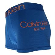 Cueca Boxer Trunk Evolution Cotton Calvin Klein - TRE2014 - Azul