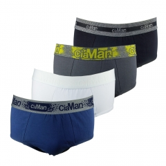 Cueca Slip Cotton Plus Size CiaMan SPS05