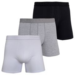 Kit c/3 Cuecas Boxer de Cotton - 1K3C1