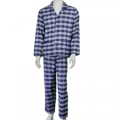 Pijama Aberto Flanela Gola Paletó Candisani - 4510