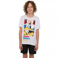 Pijama Juvenil Menino Disney Mickey Friends 53.03.0009
