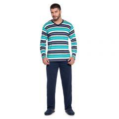 Pijama Masculino Longo Algodão Adriano - L863