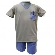 Pijama Infantil Masculino Upman Curto Tal Pai/Tal Filho  - 128