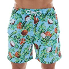 Shorts Beachwear Estampado Côco Mash - 613.28