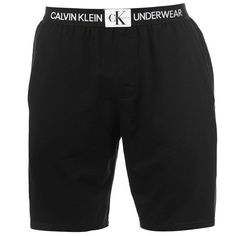 Bermuda Homewear Calvin Klein Monogram Cotton - SCH1555 Preta