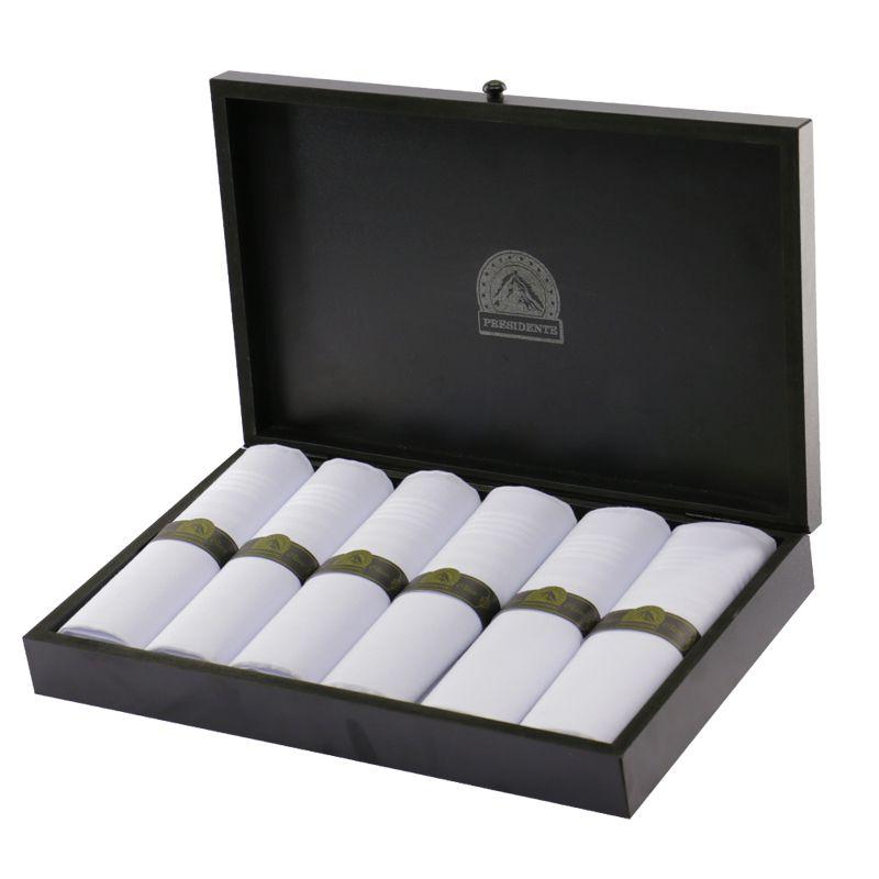 Caixa Especial de Lenços Presidente Classic c/6 unidades