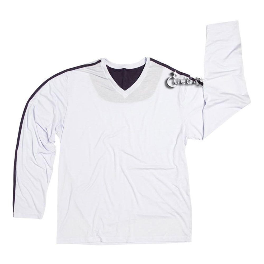 Camiseta Avulsa Pijama Masculino Manga Longa Modal Homewear - 820.01