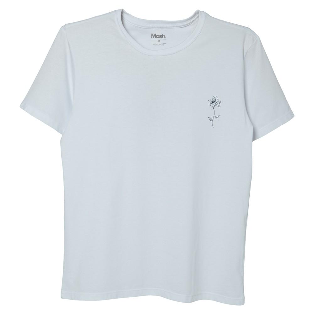 Camiseta Estampada Flor Mash 100% Algodão - 632.27