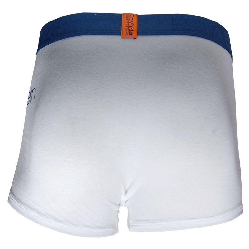 Cueca Boxer Trunk Evolution Cotton Calvin Klein - TRE2014 - Branca