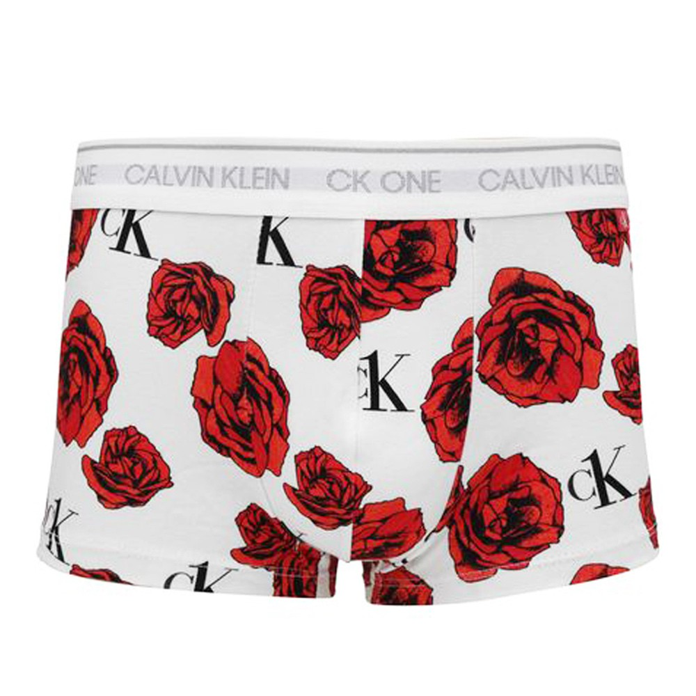 Cueca Boxer Calvin Klein One Cotton Flores - MAS1852