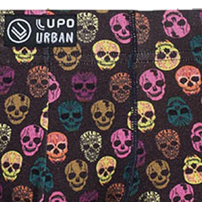 Cueca Boxer Cotton Caveira Mexicana Lupo Urban 16980-005