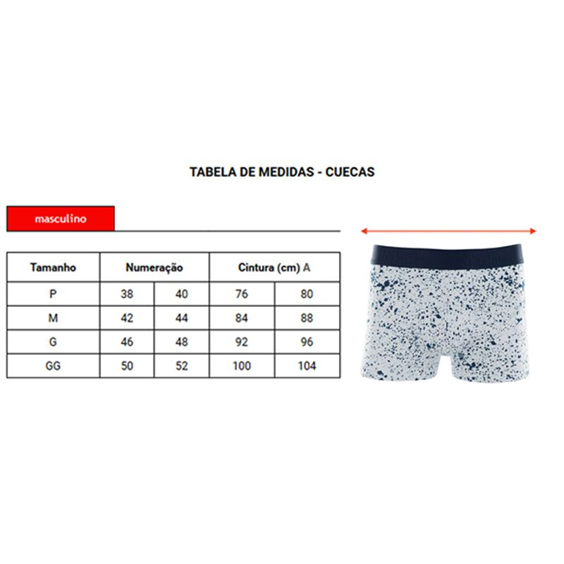 Cueca Boxer Cotton Estampada Mash 170.72