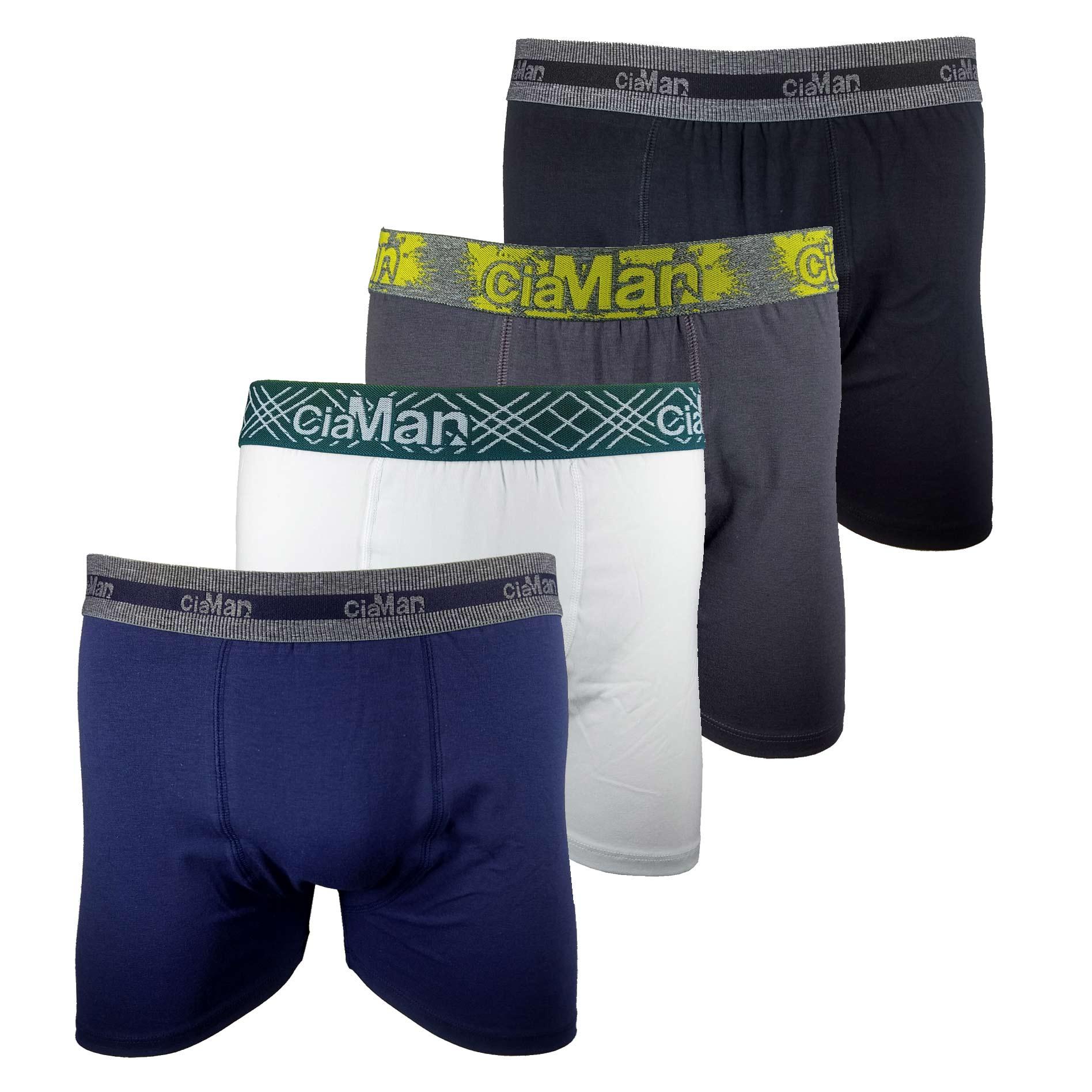 Cueca Boxer Cotton Plus Size CiaMan BPS05