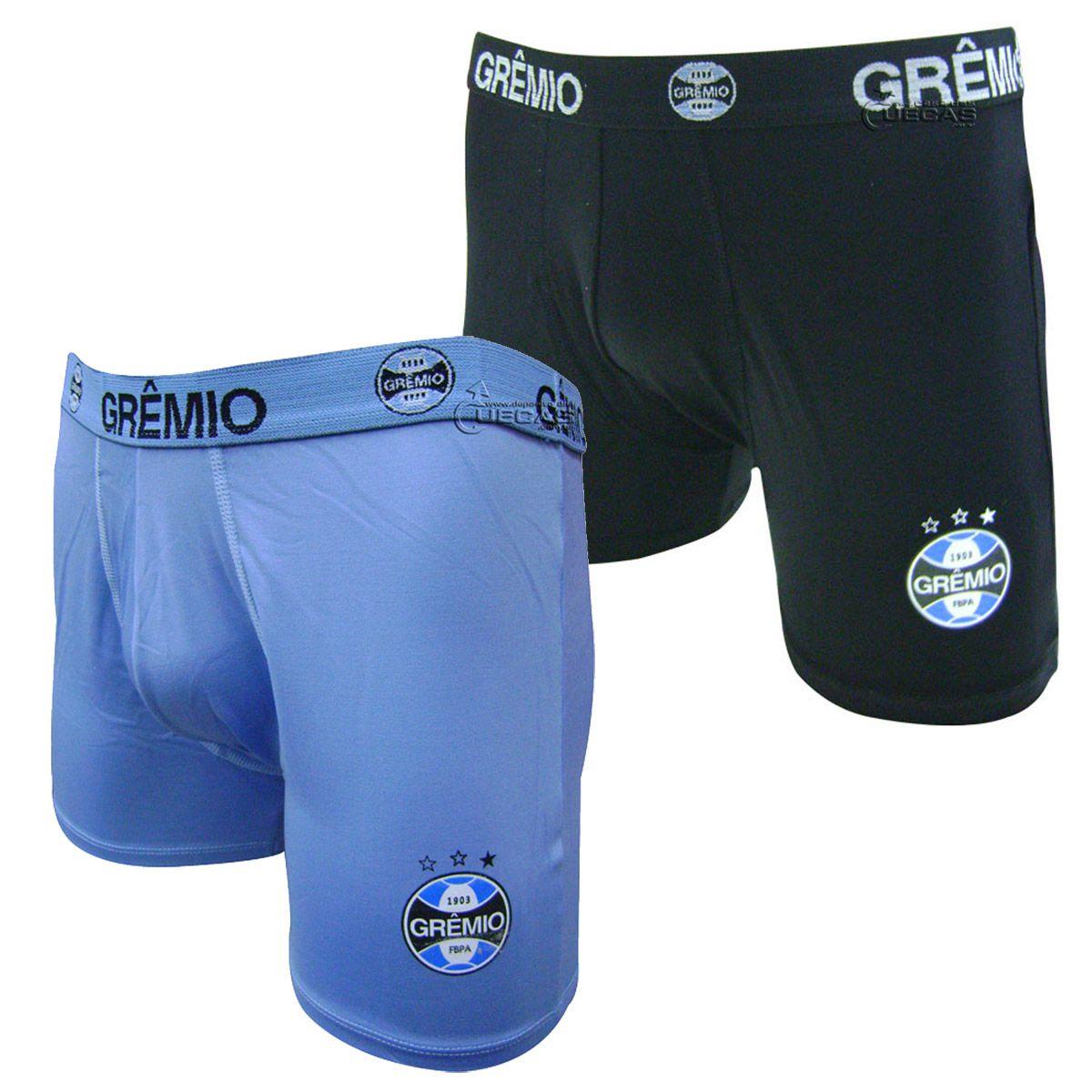 Cueca Boxer do Grêmio em Microfibra  - 04.0001