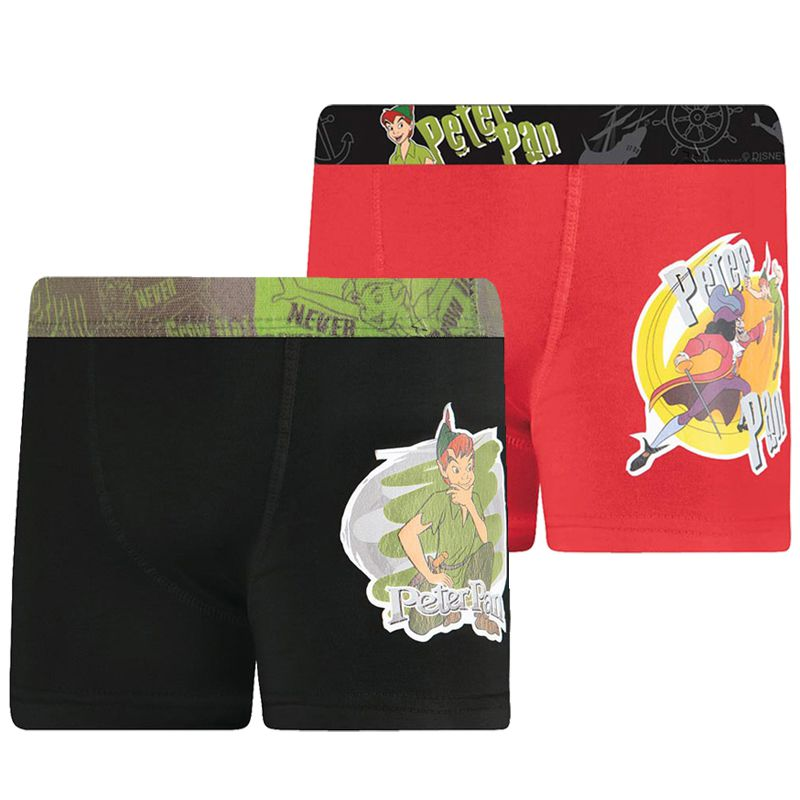 Cueca Boxer Infantil do Peter Pan - Disney - 12500