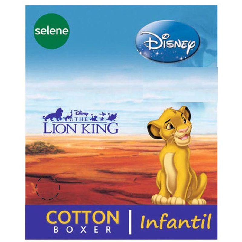 Cueca Boxer Infantil do Rei Leão - Disney - 12500