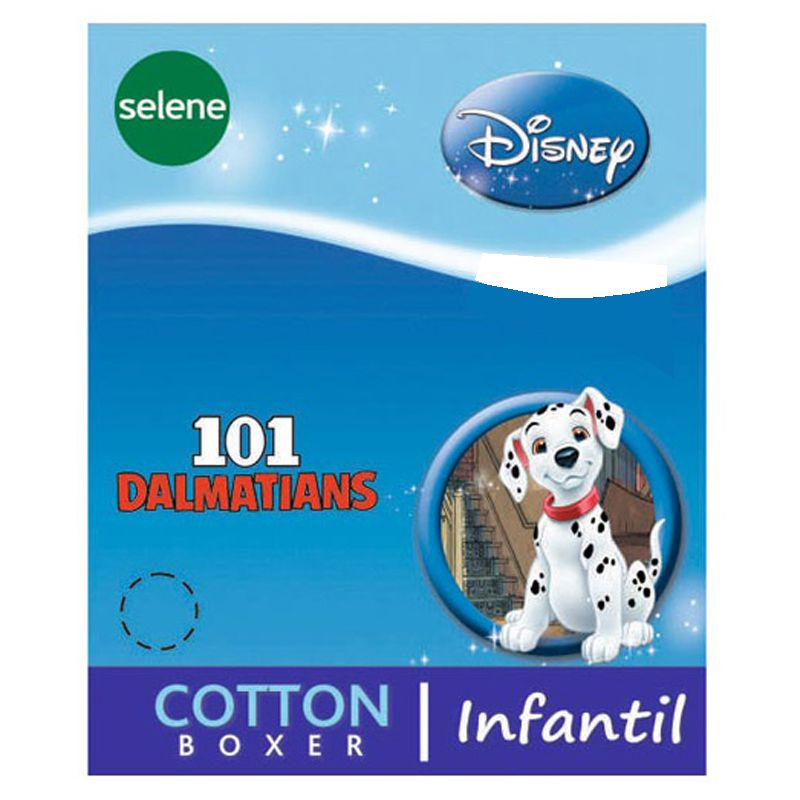 Cueca Boxer Infantil dos 101 Dalmatas - Disney - 12500