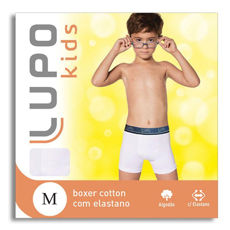 Cueca Boxer Infantil Lupo 141-002