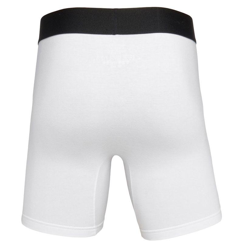Cueca Boxer Longa Power Cotton Calvin Klein Branca OIT1049